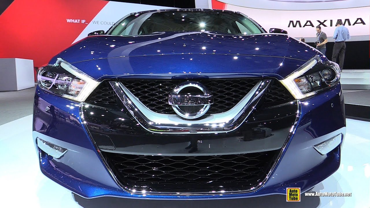 Delightful 2016 Nissan Maxima SR   Exterior And Interior Walkaround   Debut At 2015  New York Auto Show   YouTube
