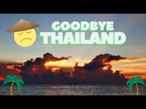 Goodbye Thailand ✌✈  ft, Travel Beans (again)