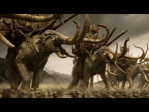 Third Age Total War Multiplayer Battle Mumakil Mountain