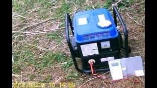 通販でよく売られている中国製発電機