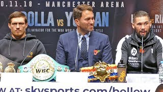 Oleksandr Usyk vs Tony Bellew FINAL PRESS CONFERENCE | Matchroom Boxing