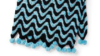Crochet Water Park Waves Blanket | EASY | The Crochet Crowd