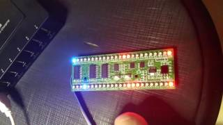 Short Preview: MCU controlled 2-Channel 24 RGB-LED VU-Meter with different pattern (details inside)(, 2016-08-31T12:32:52.000Z)