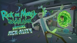 Wubba lubba dub dub - Rick and Morty: Virtual Rick-ality Oculus Touch VR gameplay - 01