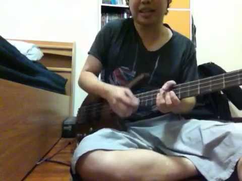 เบสิคการอุดสายเบส ผสมเข้ากับคอร์ด Basic Mute Bass String