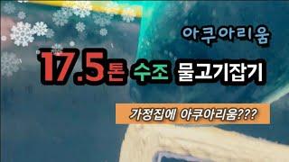 사육(물고기)_17.5톤 아쿠아리움화!!(준비)