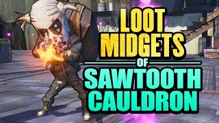 Borderlands 2 | Farming Loot Midgets of Sawtooth Cauldron