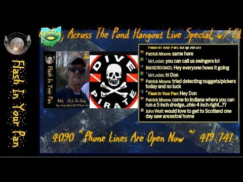 Across The Pond Special With Our Guest, Pirate Dredger From Scotland.