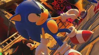 SONIC FORCES ALL ENDINGS & Final Boss Fight