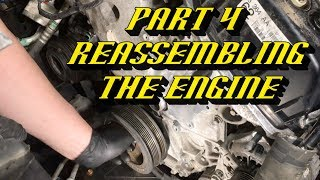 2011-2016 Ford F-150 3.5L Ecoḃoost Timing Set Replacement Part 4 : Reassembling the Engine