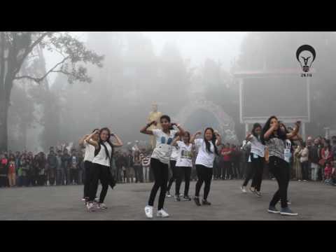 Flashmob   Abhiyantran 2016, NIT Sikkim @darjeeling