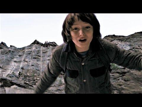 Очень странные дела 1x06 - Трой заставляет Майка прыгнуть с обрыва