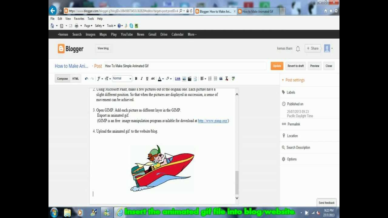 How to make animated gif using microsoft paint and gimp youtube how to make animated gif using microsoft paint and gimp negle Choice Image