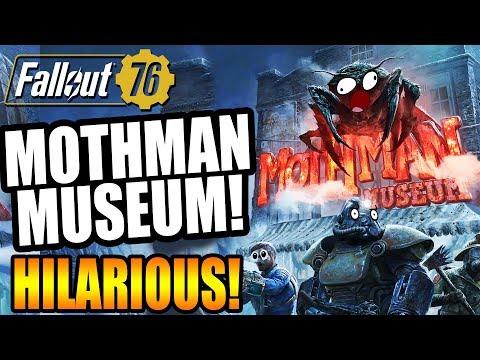 MOTHMAN MUSEUM! Part 20 | Funny Fallout 76 Gameplay thumbnail