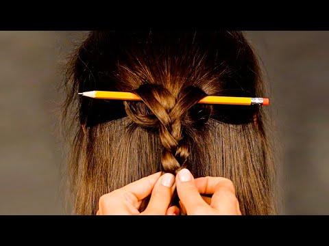 4 peinados sencillos   Looks para todos los días from YouTube · Duration:  3 minutes 38 seconds