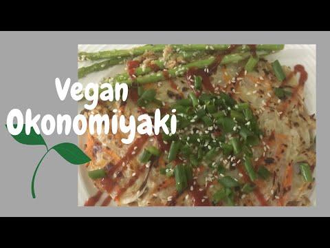 Okonomiyaki | Vegan Okonomiyaki Recipe
