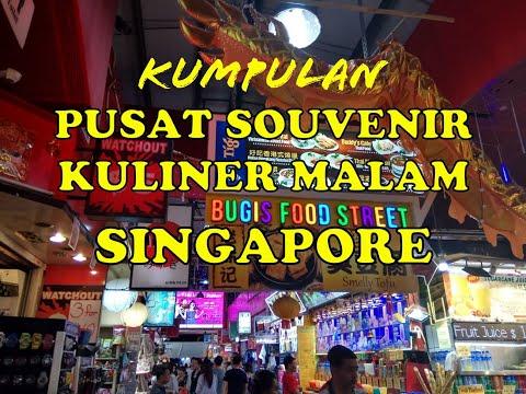 Pusat Suvenir dan Kuliner Halal Singapura Kampong Glam dan Bugis Street Singapore