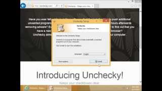 Demonstrating Unchecky