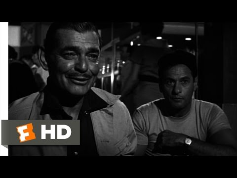 The Misfits (1/11) Movie CLIP - How Gay Lives (1961) HD