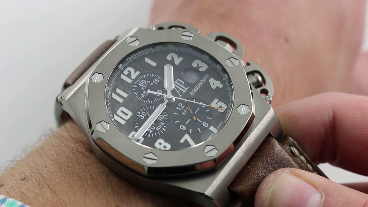 "83b3fea2b44 Audemars Piguet ""T3"" Royal Oak Offshore Chrono Limited Edition  25863TI.OO.A001CU.01 Watch Review"