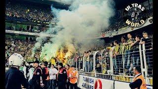 Ultras World in Turkey - Fenerbahçe vs Beşiktaş 19.04.2018