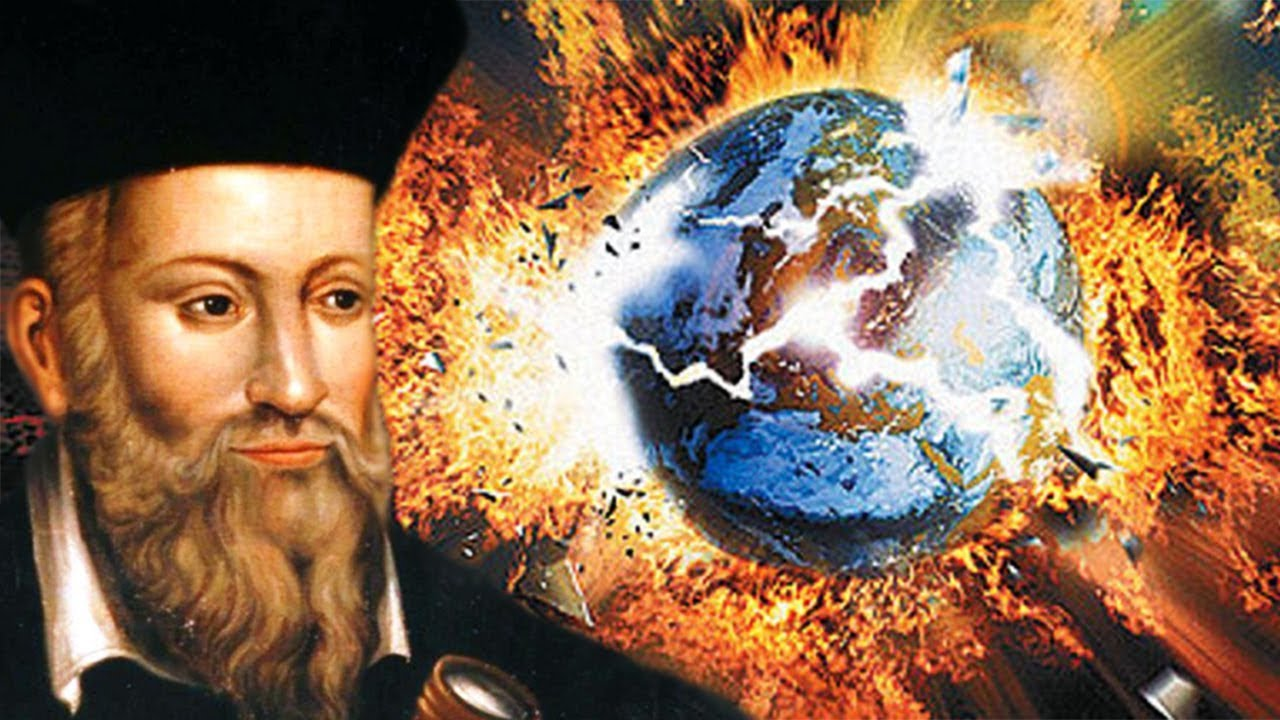 Image result for nostradamus end of world photo