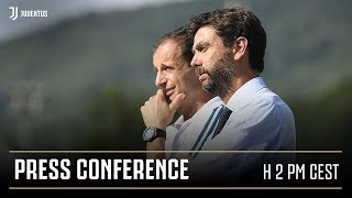 LIVE⎮ Watch President Andrea Agnelli and Massimiliano Allegri's press conference