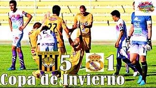 THE STRONGEST 5 vs Real Potosi 1, Relato El Derribador, Cuartos de Final, Copa Invierno Center 2015