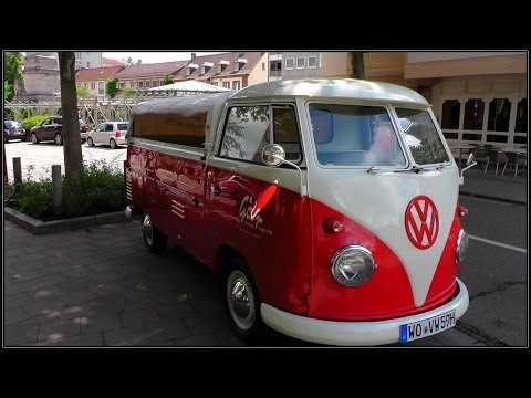 vw bus bulli ein oldtimer von volkswagen youtube. Black Bedroom Furniture Sets. Home Design Ideas