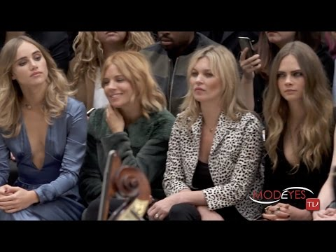 BURBERRY SPRING SUMMER 2016 FULL FASHION SHOW (singer : Alison Moyet)