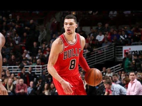 Zach LaVine Makes His Bulls Debut, Scores 14 Pts | January 13, 2018