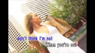 Don't Think I'm Not (Karaoke) - Kandi