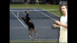 учимся подавать в большом теннисе часть 8
