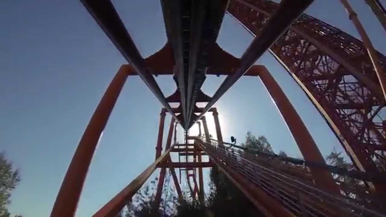 Six Flags Magic Mountain Tatsu POV HD Roller Coaster On ...