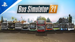 Bus Simulator 21 - Brands Showcase Trailer   PS4