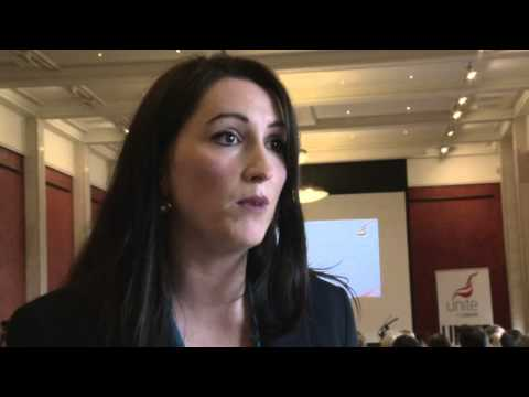 New Junior Minister Emma Pengelly attends first event at Stormont
