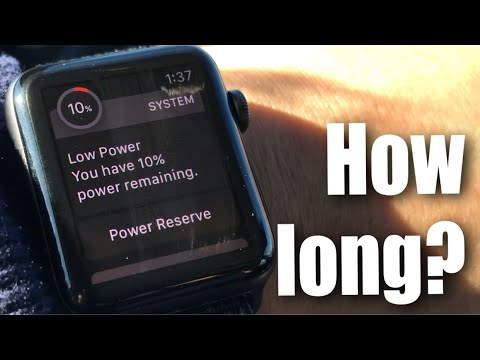 How Long Does The GPS & Cellular Apple Watch Battery Last?