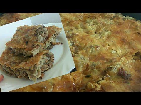 Bosanski Burek / Pita sa mesom od gotovih kora