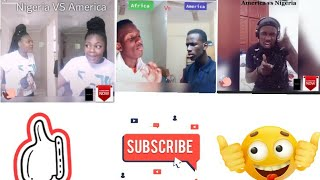MAN'S NOT HOT AFRICA VS AMERICAN TIKTOK COMPILATION