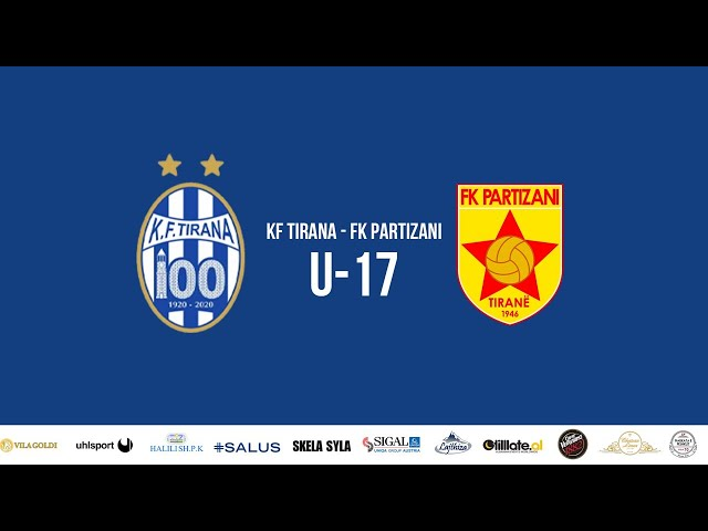 U-17 | KF Tirana - FK Partizani