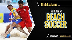 The Rules of Beach Soccer - EXPLAINED!