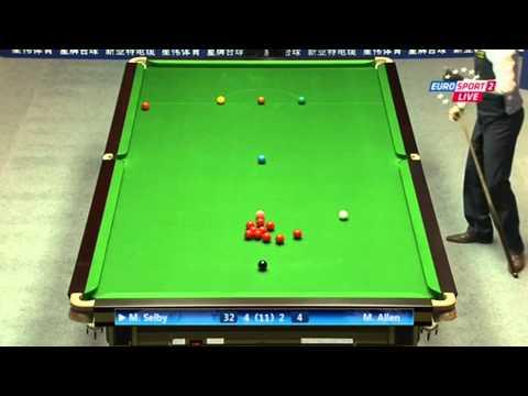 Selby vs Allen fr.6/7 - Haikou World Open2012- Semi-Final