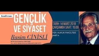 Rasim Cinisli - Gençlik ve Siyaset (Sakarya Üniversitesi Siyaset Bilimi ve Kamu Yönetimi Bölümü)