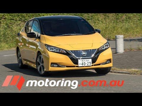 2018 Nissan LEAF Review | motoring.com.au - Dauer: 3 Minuten, 20 Sekunden