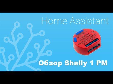 Shelly 1 PM: обзор и интеграция в Home Assistant