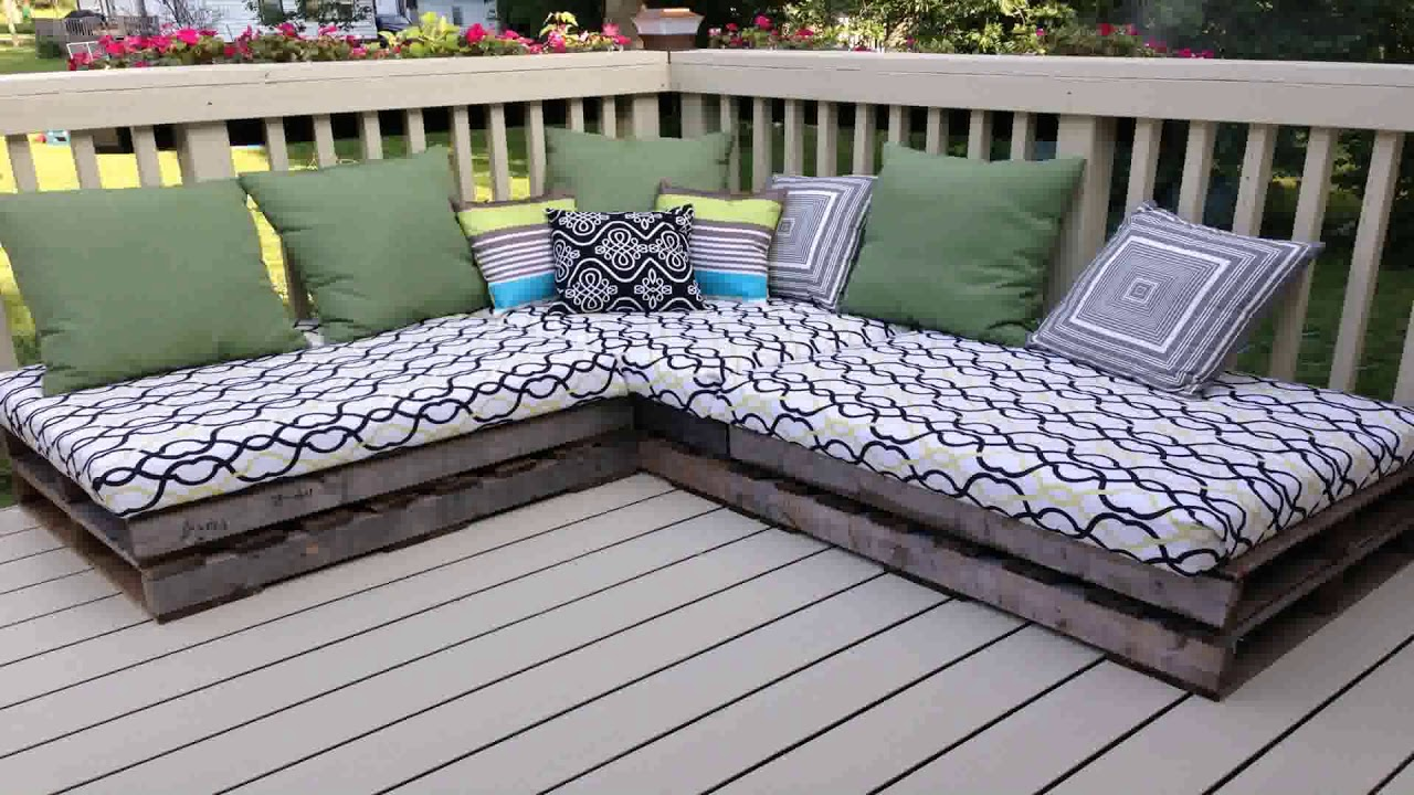 Diy Outdoor Furniture Ideas Pinterest Youtube