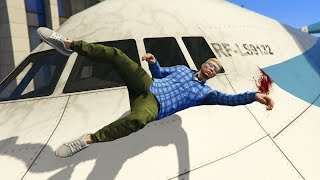 GTA 5 Epic Plane Crash | Ragdoll Compilation vol.7 (Euphoria physics)