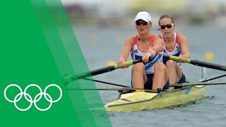 Helen Glover & Heather Stanning on winning Great Britain's first London 2012 gold