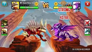 ✔️ Thần Mộc LV 35 Rồng Huyền Thoại Dragon City HNT chơi game Nông Trại Rồng vui HNT Channel New 438