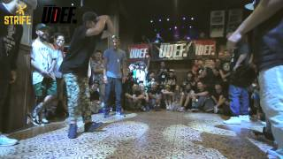 Take Notice vs Rock Steady Crew | Concrete All Star 2015 x UDEFtourorg | Semi | Strife